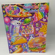 Lisa Frank Jumbo Coloring Activity Book Food Frenzy Fun 2015 Modern Publishing