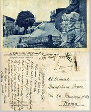CAMERINO: Monumento a Vitalini   1942