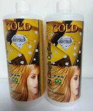 Genuine Capilar Surgery HairCare Gold Diamond 1Lt 2 Step  Shampoo & Treatment
