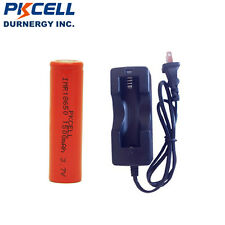 1 18650 30A High drain Vape Lithium Rechargeable Battery 3.7v 1500mAh+ Charger