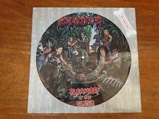 Exodus Pleasures Of The Flesh Picture Disc Combat LP