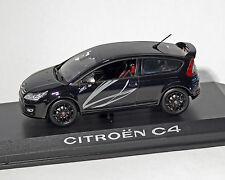 """Citroen C4 Coupe """"by Lagrow"""", noir-métallique, NOREV 1:43"""