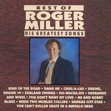 New: Roger Miller: Best Of Roger Miller: His Greatest Songs  Audio CD