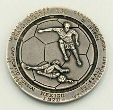 1970 Mexico FIFA Silver Medal World Soccer Championship Tontiuh  Free Priority