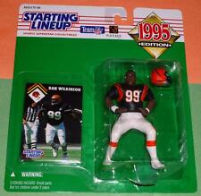 1995 DAN WILKINSON Cincinnati Bengals Rookie - low s/h - sole Starting Lineup