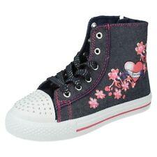 Chaussures multicolores moyens en toile pour fille de 2 à 16 ans