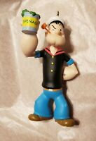 Vintage Popeye with Spinach Can Ornament 1995 K.F.S. Inc Hallmark Cards Inc Used