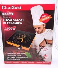 Piastra Ad Induzione 2000W Piano Ceramica Fornello Elettrico T-9642 linq