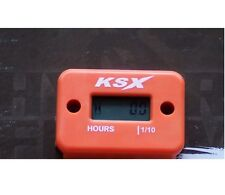 KSX Betriebsstundenzähler Stundenzähler KTM Orange Induktion Induktiv