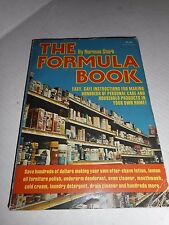 THE FORMULA BOOK MAKING HUNDREDS OF PERSONAL CARE & HOUSEHOLD PRODUCTS 1975 BOOK