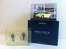 Vitesse (Millenium) - Volkswagen Beetle 1999 avec personnages (1/43)