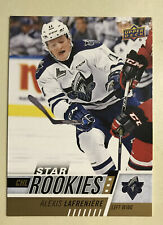 2017-18 Upper Deck CHL Star Rookies Alexis Lafreniere New York Rangers Pick