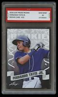 FERNANDO TATIS JR. 2018 LEAF PRIZED 1ST GRADED 10 ROOKIE CARD SAN DIEGO PADRES