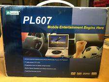 "Mustek PL607 7"" Portable DVD Player: NEW IN BOX"