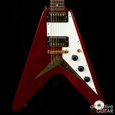 Gibson Custom Shop '59 Réédition Flying V Héritage Cerise Guitare Électrique