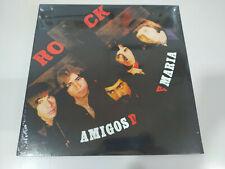 """AMIGOS DE MARIA ROCK LP 12"""" Vinilo Edicion Limitada 500 Copias Nuevo"""