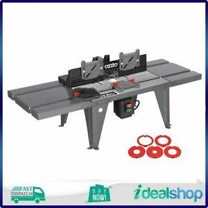Ozito 855 x 335mm Router Table, CAST ALUMINIUM TOP