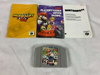 Mario Kart 64 (Nintendo 64, N64,1997) Authentic - Tested - With Manual