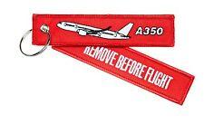 """REMOVE BEFORE FLIGHT - AIRBUS A350 """" XWB """" - Schlüsselanhänger - NEU - A 350"""