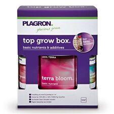 Plagron Top Grow Box Terra Dünger Komplettset Erde DüngerSet für 1 m²+Messbecher
