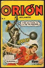 Orion from Atlantis, is his life or my fathers Mexican comic book # 5
