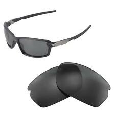 31b8dbf39dd New Walleva Black ISARC Polarized Replacement Lenses For Oakley Carbon Shift