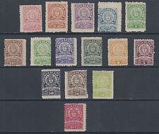 Argentina, San Juan, 1913-1915 Municipal Tax Fiscals, 15 different