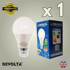 10W GLS LED Light Bulb Cool White B22 Edison Screw Equal 100W Very Bright A60
