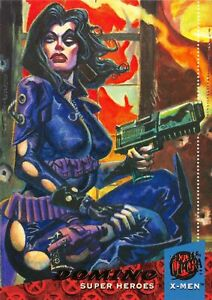 DOMINO / X-Men Fleer Ultra 1994 BASE Trading Card #20