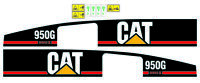 adhesive sticker caterpillar 950g decal compatible