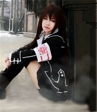 Vampire Knight Kuran Yuki Cosplay wig 100cm coffee color+wig cap