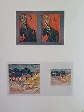 Josef Albers Original Silkscreen Folder XIX-3/Left Interaction of Color 1963