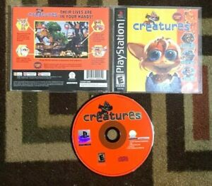 Creatures Complete (Sony PlayStation 1, 1999) VG Shape & Tested