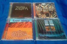 ZZEBRA - 4 AudioCD Set - Panic / Take It Or Leave It / Lost World / Zzebra S/T