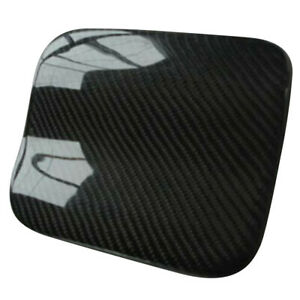 Carbon Fiber Fuel Gas Door Cover Trim Fit for Subaru Impreza WRX STI 2004-2007