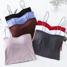 Women Sexy Sleeveless Vest Blouse Casual Tank Tops Summer Crop Shirt Cami Tops&