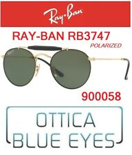 Occhiali da Sole RAYBAN RB 3747 900058 Sunglasses Ray Ban Polarized New Round