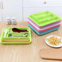 DI- AU_ NE_ Drawer Cabinet Cutlery Divider Smooth Tray Storage Organizer Kitchen