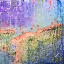 LARGE Abstract Art SEEN ON TV Original Contemporary Prize Nature Landscape