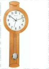 Hermle 70727-322200 Contemporary Large Solid Alder Wall Clock