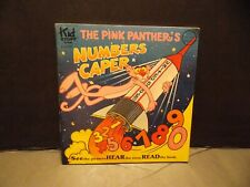 1981 Book & Record set - Pink Panther Numbers Caper