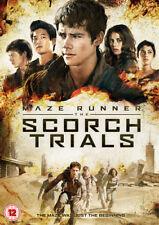Maze Runner: Chapter II - The Scorch Trials DVD (2016) Dylan O'Brien ***NEW***
