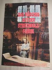 DAS MÄDCHEN AUS DER STREICHHOLZFABRIK - Poster Plakat - Aki Kaurismäki