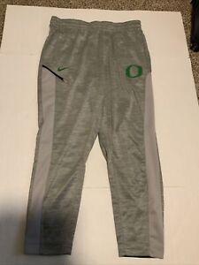 Nike Oregon Ducks Basketball Pants Men's Size: 3XL NWOT Gray/Green Pockets