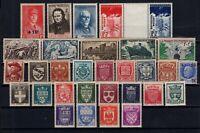 PP128207 / FRANCE / LOT 1941 - 1942 MNH ** CV 150 $