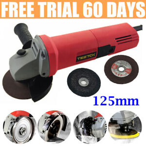 """Power 850W Angle Grinder Electric Stone / Metal / Wood Cutter Sander 5"""" 125mm"""