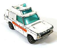 Corgi Juniors Range Rover Police Gt Britain Vintage Toy Car Diecast M404