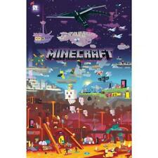Minecraft Póster World Beyond 179 Mercancía Oficial