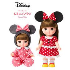 Bandai Disney REMIN & SOLAN Japan Doll Figure Set Minnie Mouse Baby Kids Toy