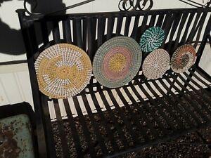 Boho Sea grass Baskets Set Of 5